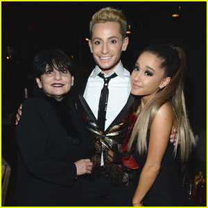 Ariana Grande & Brother Frankie Celebrate After Grammys 2016