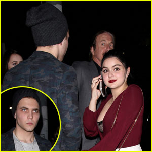 Ariel Winter Celebrates Her 18th Birthday With Boyfriend Laurent Claude Gaudette