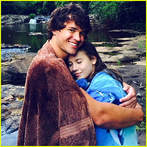 Bindi Irwin Warms Up In Chandler Powell's Arms After Cool Swim