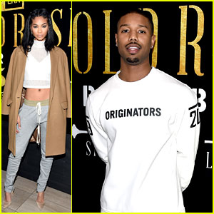 c7d1d66a3f97f9 Chanel Iman Joins Michael B. Jordan at New Era Style Lounge