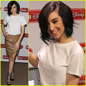 Christina Grimmie Promotes New EP at Radio Disney