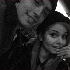Debby Ryan Reunites With 'Suite Life' Co-Star Cole Sprouse!
