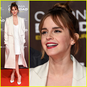 Emma Watson Debuts Bangs For 'Colonia' Premiere in Berlin
