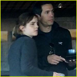 Emma Watson &  Guy Friend Enjoy a Weekend Away in Big Sur