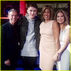 Greyson Chance Stops by 'Today' to Perform 'Hit & Run' - Watch Now!
