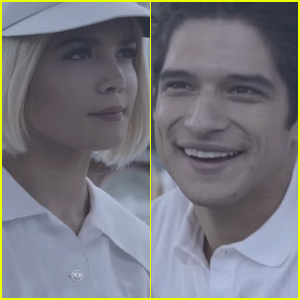 Tyler Posey Stars in Halsey's New Music Video For 'Colors'