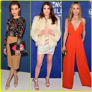 Ingrid Nilsen, Elle Winter & Singer Zella Day Hit 'Alice + Olivia's NYFW Presentation