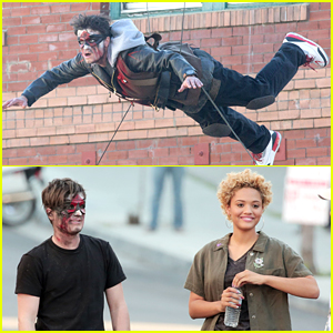 Josh Hutcherson Flies For DJ Snake's Music Video with Kiersey Clemons