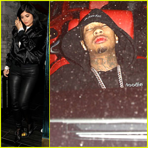 Kylie Jenner Spends Night Apart From Tyga, He Sleeps in Chris Brown's Car
