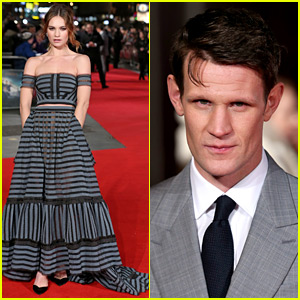 Lily James & Matt Smith Walk the Red Carpet Separately at 'Pride and Prejudice and Zombies' Premiere
