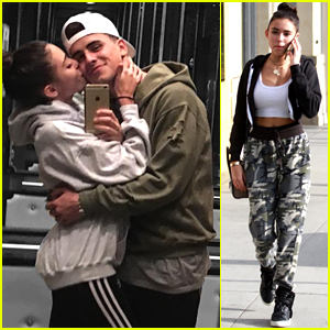 Madison Beer Shares Cute Elevator Selfie with Jack Gilinsky