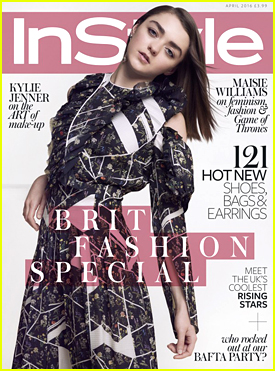 Maisie Williams Dishes On Her Boyfriend In 'InStyle UK' April 2016