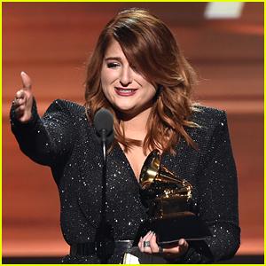 Meghan Trainor Wins Best New Artist at Grammys 2016