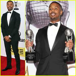 Michael B. Jordan Wins Entertainer of the Year at NAACP Image Awards; Writes More Thanks on Instagram