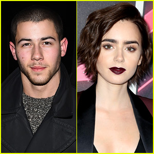 Is Nick Jonas Dating Lily Collins?