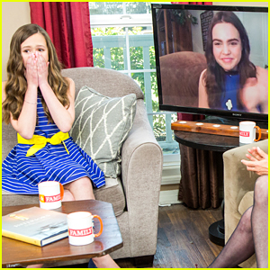 Bailee Madison Surprises Olivia Sanabia on Hallmark's 'Home & Family'