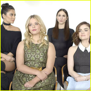 Watch the 'Pretty Little Liars' Cast Guess Their On-Screen Makeout Sessions!
