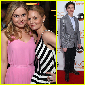 Rose McIver & Jared Gilmore Celebrate 'Once Upon A Time's 100th Episode