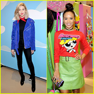 Amanda Steele & Serayah Attend Moschino & Powerpuff Girls Launch