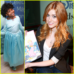 Trinitee Stokes Dresses As Queen Elsa For Disney Reads Day