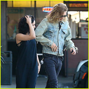Vanessa Hudgens Runs Errands With Boyfriend Austin Butler