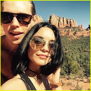 Vanessa Hudgens & Austin Butler Under Investigation for Rock Carving