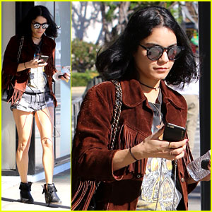Vanessa Hudgens Shares Message For Her Dad on Snapchat