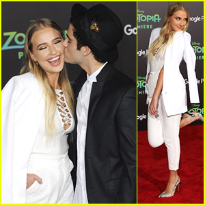 Veronica Dunne & Max Ehrich Make Us Swoon at 'Zootopia' Premiere