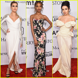 Kristina Bazan Hits amfAR Gala 2016 with Barbara Palvin & Hailey Baldwin