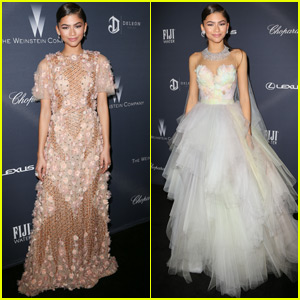 Zendaya Dons Two Gorgeous Gowns at Pre-Oscar Dinner