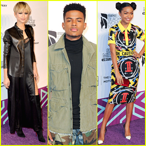 Zendaya & Trevor Jackson Hit Up Essence Black Women in Music Event 2016 Together