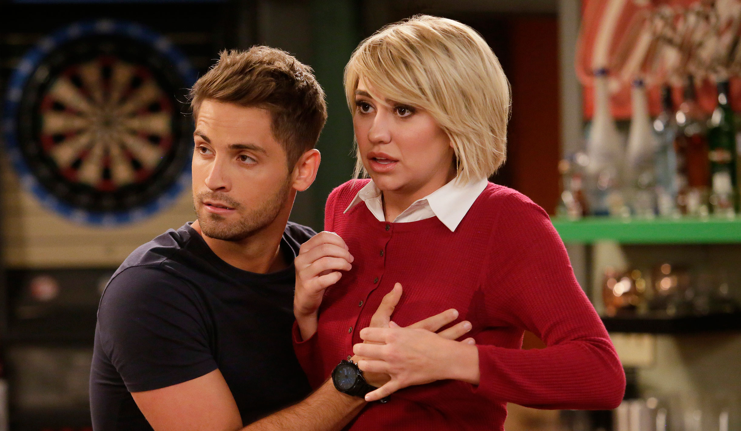 baby daddy ben and riley relationship questions