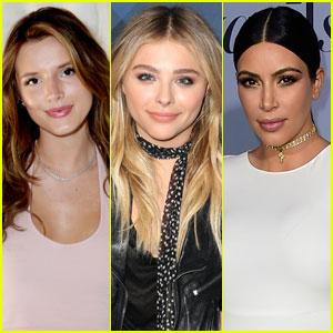 Bella Thorne Defends Kim Kardashian After Chloe Moretz' Critique of Her NSFW Selfie