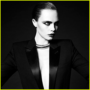 Cara Delevingne Boldly Returns to Modeling With Saint Laurent Campaign