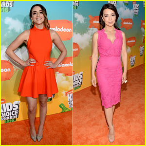 Chloe Bennet & Ming-Na Wen Rep 'Agents of S.H.I.E.L.D.' at Kids Choice Awards 2016