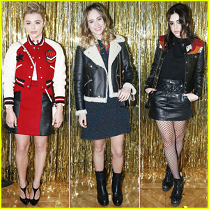 Chloe Moretz, Suki Waterhouse & Charli XCX Have Prom Party At Coach Paris Flagship Opening!