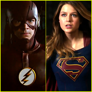 'Supergirl' & 'The Flash' Release First Crossover Episode Teaser - Watch Now!