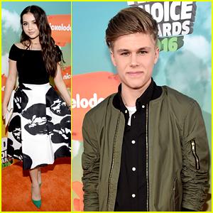 Isabela Moner & Owen Joyner Join Forces on Kids Choice Awards 2016 Orange Carpet