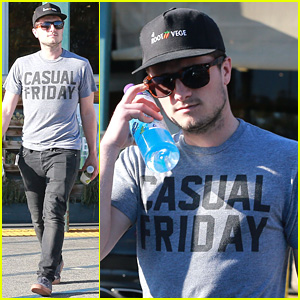 Josh Hutcherson Makes a Pit Stop at Whole Foods