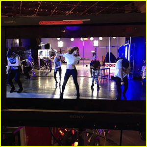 Laura Marano Teases 'Boombox' Music Video - See The First Pic!