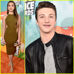 Paris Berelc & Jake Short Bring The 'Elite Force' To Kids Choice Awards 2016