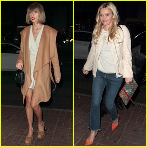 Taylor Swift Meets Up With Reese Witherspoon for Dinner