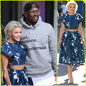 Witney Carson Says There Hasn't Been Any Spying On Other DWTS Couples This Season