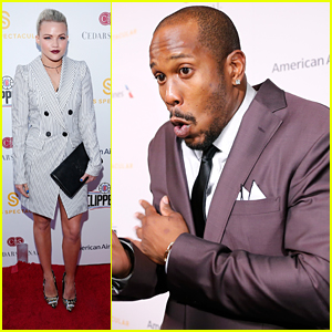 Witney Carson Supports DWTS Partner Von Miller At Sports Spectacular 2016