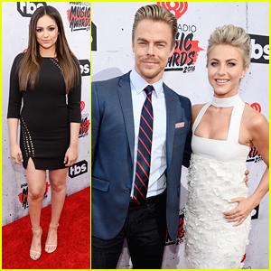 Bethany Mota & Derek Hough Reunite at iHeartRadio Music Awards 2016