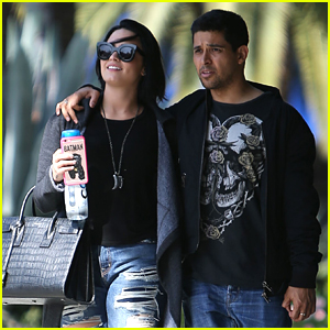 Demi Lovato Spends Time with Boyfriend Wilmer Valdderama After Announcing Miguel Collaboration