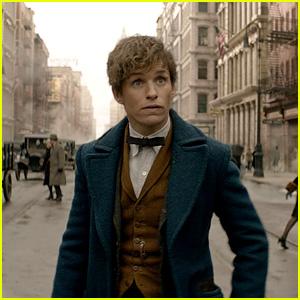 Eddie Redmayne Debuts 'Fantastic Beasts' Trailer During MTV Movie Awards 2016 - Watch Now!