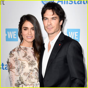 Ian Somerhalder Steps Out for WE Day 2016 With Wife Nikki Reed