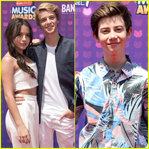 Isabela Moner and Jace Norman spotted together at RDMA 2016 making the Red Carpet Debut