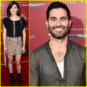 Isabelle Fuhrman & Tyler Hoechlin Help Raise Money for Stuart House